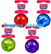 KONG Squeezz Ball Squeaker Dog Puppy Toy medium large XL squeaky fetch