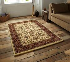Think Rugs Heritage Traditional Cream Red Rugs 993