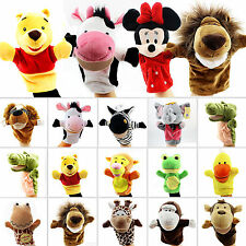 Animal Wildlife Hand Glove Soft Puppets Finger Role Pretend Play Kid Push Toys