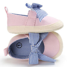 Baby Moccasins Girls Walking Shoes Infant Kids Soft Sole Bowknot First Walkers