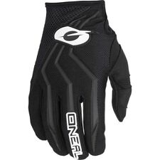 NEW Oneal 2018 Youth MX Element Black Kids Dirt Bike BMX Motocross Gloves