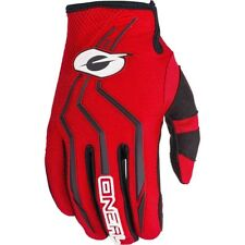 NEW Oneal 2018 Youth MX Element Red Kids Dirt Bike BMX Motocross Gloves Set