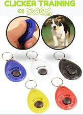 Clicker Training Obedience Dog Pet Wrist Trainer Click Aid Strap Agility Puppy