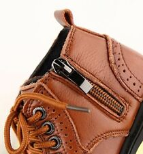 """Freycoo """"Axel"""" Brown Leather Boots Boys Toddler"""