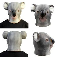 Multi-style Head Mask Latex Prop Animal Cosplay Costume Party Halloween Mask