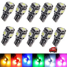 10x SMD5050 Multi-color Canbus Error Free T10 501 W5W car side light Xenon White
