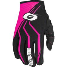 NEW Oneal 2018 Youth MX Element Black Pink Girls Dirt Bike Motocross Gloves