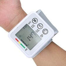 Household Automatic Wrist Blood Pressure Pulse Monitor Digital Sphygmomanometer