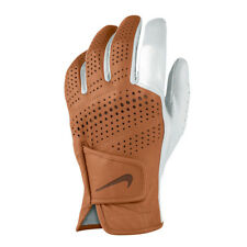 New Nike Tour Classic Men's Golf Glove White/Brown - Pick Size