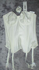 BNWT FANTASIE IVORY BRIDAL CORSET / BASQUE / BODYSHAPER Various Sizes  RRP £40