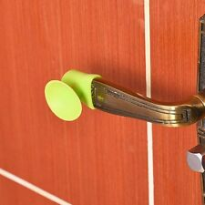 3PC Wall Door Protective Pad Fender Rubber Handle Lock Protection Pad