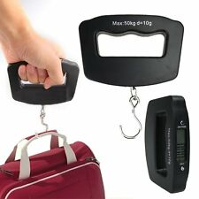 Portable 50kg/10g LCD Digital Hanging Luggage Weight Electronic Hand Hook Scale