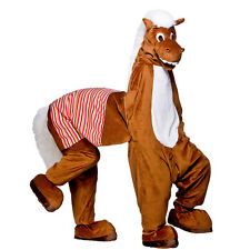 Adults Unisex Panto Horse (2 Man) Costume Drama Pantomime Nativity Fancy Dress