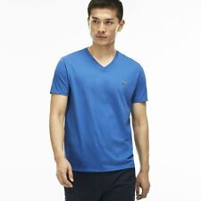 Lacoste V Neck Pima Cotton Jersey T Shirt # TH6710 51 TUC Medway