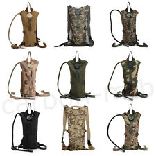Cycling Backpack 3 L Water Bladder Bag Camping Hiking Hydration Water Camo Packs