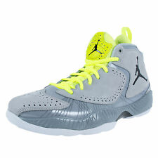 Nike Air Jordan 2012 Deluxe Basketball Shoes DS Wolf Grey Volt 484654-001 NEW