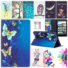 """Flip Leather Wallet Card Slot Stand Case Cover For Amazon Kindle Fire HD 8"""" 2016"""