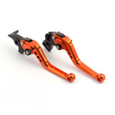FXCNC Brake Clutch Lever fit BMW F650GS 2008 2009 2010 2011 2012 Orange 177mm