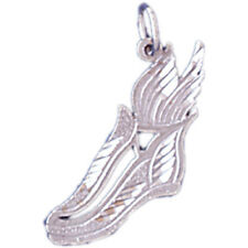 18K Gold Running Shoe Pendant (Yellow or White Gold) - AZ11274-18K