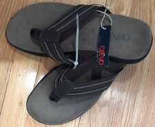Crevo Wallin Brown Slip On FlipFlop Sandals Sz 10M and 11M Available