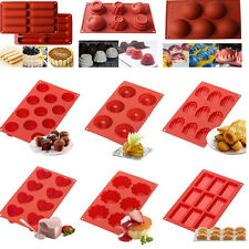 Silicone Fondant Cupcake Mold Muffin Pan Cake Candy Chocolate Pastry Baking Tray