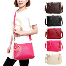 Women PU Leather Shoulder Bag Tote Purse Handbag Messenger Crossbody Satchel