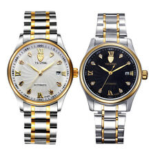 TEVISE Automatic Mechanical Watch for Men Luxury Crystal Analog Wrist Watch