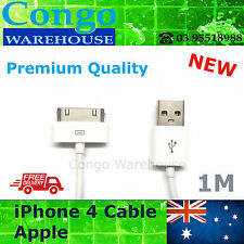 iPod Touch iPad 2 3 USB Data Charger Cable Sync Cord iPhone 4S 4 3GS  iPhone 5 6