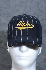 Ball Player Alpha cap, black/gold - cap baseball - Alpha Phi Alpha APE Sphinxman