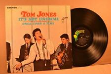 TOM JONES Parrot PAS 71004 IT'S NOT UNUSUAL - with UNUSUAL COVER  VG+/VG++