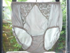 Vintage Nylon Lingerie Granny Bloomers Panties Sissy Sheer Lace Briefs Sz M L XL