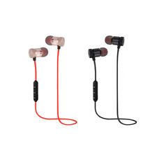 New Wireless Sports Magnet Bluetooth 4.1 Headphone Earbuds Headset Earphone