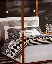 RALPH LAUREN BLACK PALMS 4pc KING ~ FLAT~FITTED ~Pillowcases or 3pc KING SHEETS