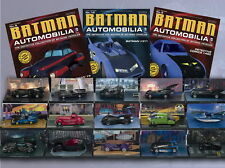 Batman automobilia collectable model batman cars and vehicles by eaglemoss