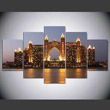 Dubai Atlantis Hotel Picture Canvas Painting Abstract Wall Modern Art Home Decor