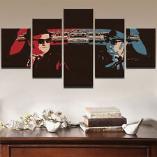 The Blues Brothers Painting Abstract Print Canvas Wall Art Poster Home Decor