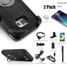 For Samsung Galaxy Note 5 Belt Clip Holster Case with KickStand Cover +Accessory