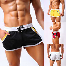 Men's Summer Casual Sports Gym Nylon Shorts Jogging Trunks Beach Short Pants New