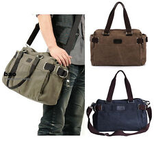 New Men's Vintage Canvas shoulder bag handbag Messenger Sling school Bags 62#
