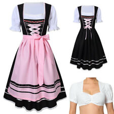 2017 Womens German Traditional Dirndl Dress Oktoberfest German Austrian  Costume