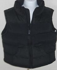 GYMBOREE Boy's Ace Pilot Navy Blue Fleece Lined Puffer Vest Size XS(3-4)
