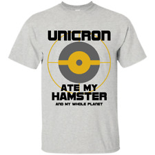 Unicron ate my hamster - Planet Eater Transformers Movie Cartoon 80's TShirt