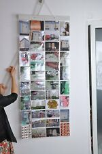 Photo Album Picture Pockets Photo Hanging Display, 40 Pockets with 80 Photo,