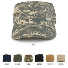 Ripstop Tear Resistant Military BDU Cotton Adjustable Jeep Style Army Cap