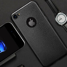 Luxury Soft Silicon Case For iPhone PU Leather Case Back Cover Fundas Capa Coque