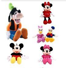Disney Mickey Mouse Minnie Donald Duck Daisy Plush Toys Cute Goofy Pluto
