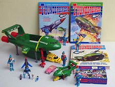 THUNDERBIRDS: MATCHBOX THUNDERBIRD 2,  ACTION FIGURES, NEW BOOKS LOT
