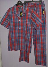 Polo Ralph Lauren Men Sleepwear Pajama Set Lounge Pant Nightshirt Cotton M L XL