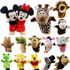 Kid Baby Finger Hand Puppets Animal Kindergarten Educational Soft Plush Doll Toy