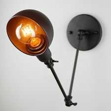 Indoor Wall Lights Adjustable Arm Iron Lighting Bedroom wall sconce LED Lamp